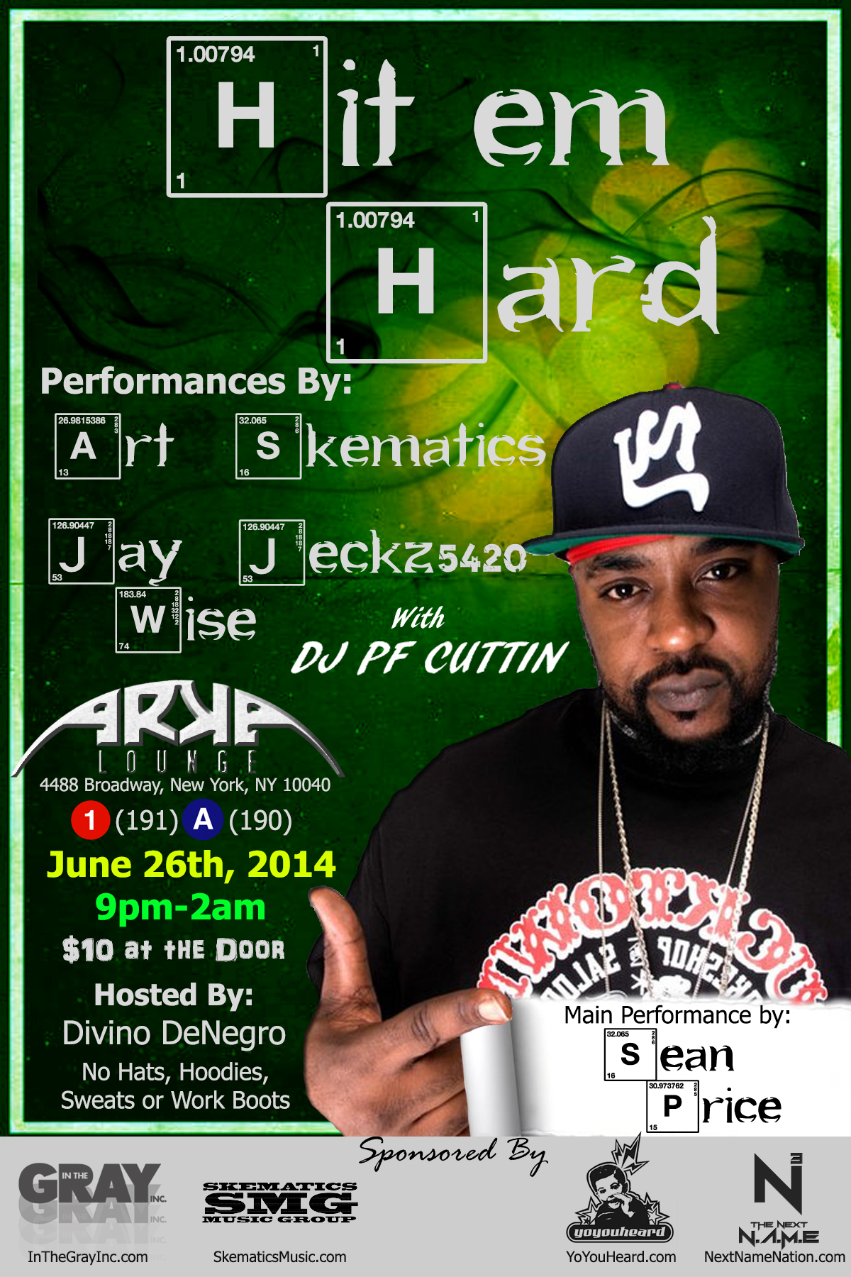 Hit Em Hard Showcase ft. Sean Price
