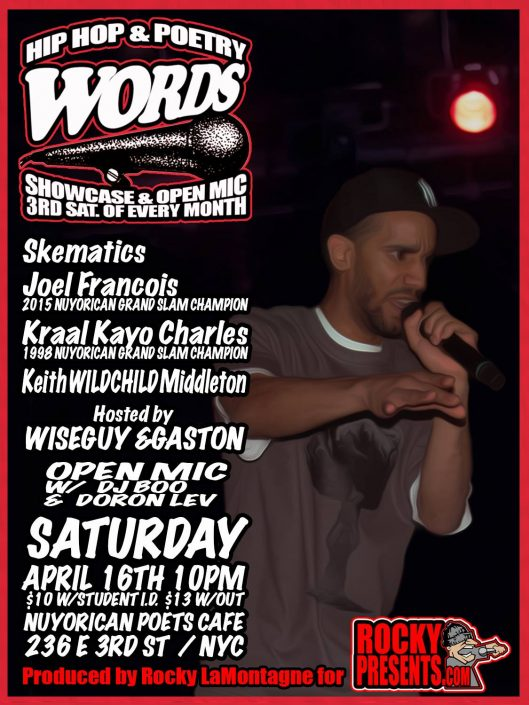 Nuyorican Poets Cafe ft. Skematics