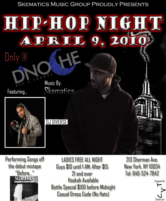 Hip Hop Night - DNoche ft. Skematics